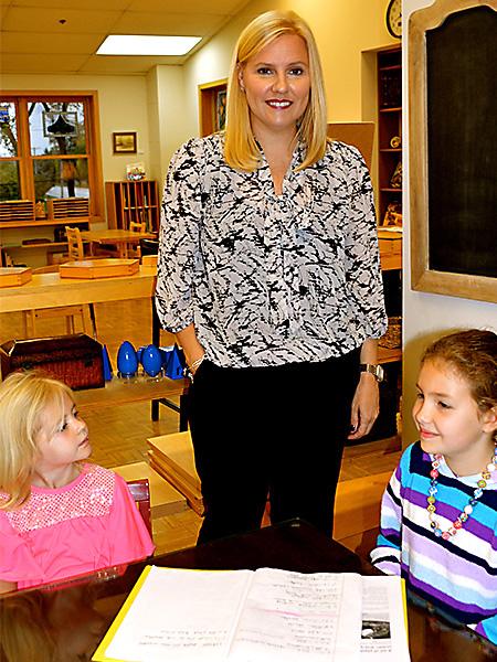 Kim Anderson Teacher, Lower Elementary Class