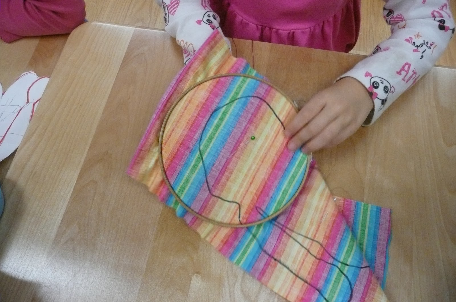 Stitches and sewing classes for kids